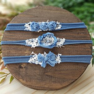 Kit Headbands Azul
