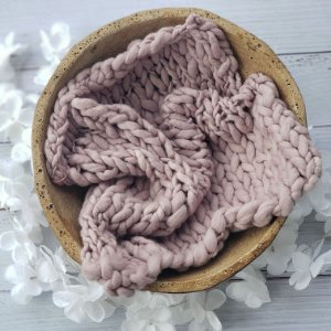 Manta Merino Irregular Lilac tamanho 40x45