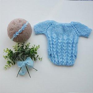 Conjunto Mohair Azul
