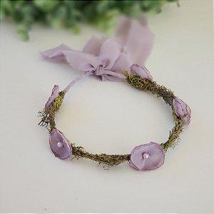 Coroa Flor Lilac