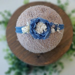 Headband Julia Azul Jeans