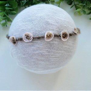 Headband Organic Rosa