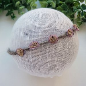 Headband Organic Lilás
