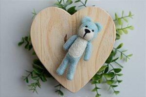 Ursinho Feltragem Azul