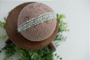 Headband Pérola Verde