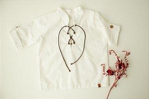 Camisa Algodão Off White