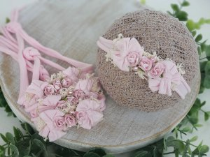 Headband Laís Rosa Bebê