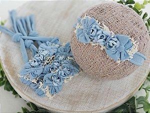Headband Laís Azul