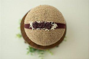 Headband Florzinhas Açaí
