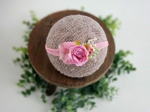 Headband Bela Rosa