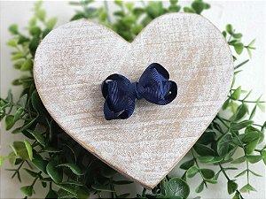 Mini Laço Boutique Gravatinha Azul Marinho