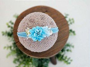 Headband Bela Azul