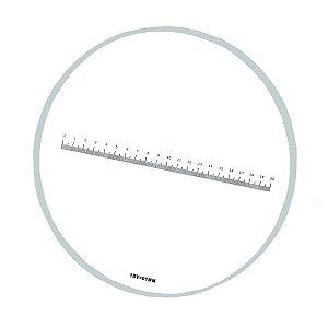 Reticulo de Medição para Microscópio 20:0,1mm - TA-0262-A