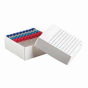 Caixa Polipropileno 81 Microtubos 1,5 a 2,0 ml - K30-0081