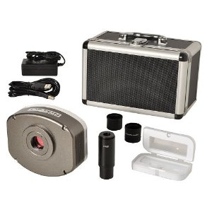 Câmera para microscópio - Digital CCD 5.0 MP Fluorescência e Campo Escuro - TA-0124-C
