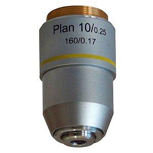 Objetiva 10X Plana - TA-0211-PL