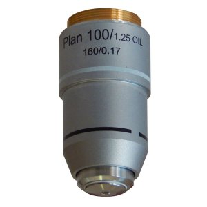 Objetiva 100X Plana Retrátil Óleo - TA-0213-PL