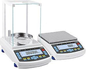 Balança Prix Lab Capacidade 2100 X 0,01g com Ajuste Interno