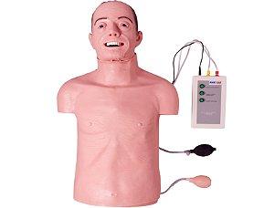 Simulador Torso Geriátrico RCP e Intubação - TGD-4005-GI