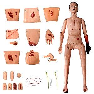 Manequim com Órgãos Internos Sim. Cuidados Enfermagem Trauma