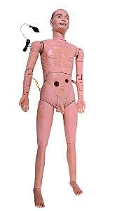 Manequim Geriátrico Masculino Simulador Avançado Enfermagem