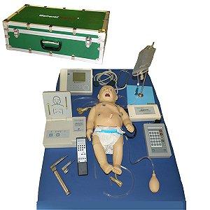 Manequim Bebê - Simulador para Treino em ACLS Neonatal - TGD-4025-N