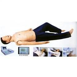 Manequim Simulador Treinamento RCP, ECG, DEA e Intubação