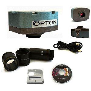 Câmera para microscópio - Digital CMOS 5 MP - TA-0124-B