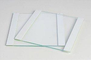 Placa de Vidro 10 x 10 Entalhada Espaçadores 1 mm Espessura - K34-45
