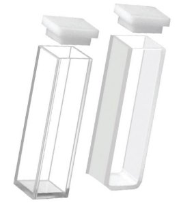 Cubeta Vidro Óptico 3,5 ml - K22-135-G