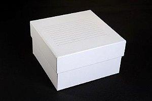 Caixa Fibra Papelão - 81 Microtubos 3,0 a 5,0ml - K30-0813