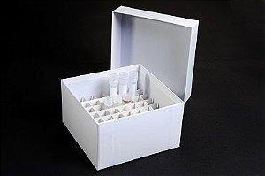 Caixa Fibra Papelão - 16 Tubos 50ml - K30-1650