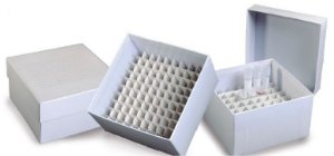Caixa Fibra Papelão - 49 Tubos 15ml - K30-4915