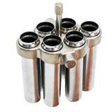 Conjunto 24 Caçapas para Tubos 15 ml Compatível K14-M9 - K14-M9-15