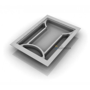 Divisor de Talheres 052 - 340x480mm - Branco