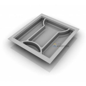 Divisor de Talheres 053 - 440x480mm- Branco