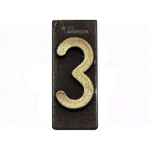 Algarismo Número Isero 471 para Portas de Apartamento
