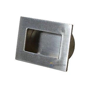 Puxador de Embutir Tess 50mm