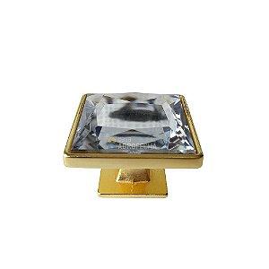 Puxador Gardenia Cristal 35mm