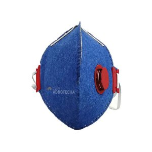 Máscara Descartável PFF1(S) com Válvula Worker