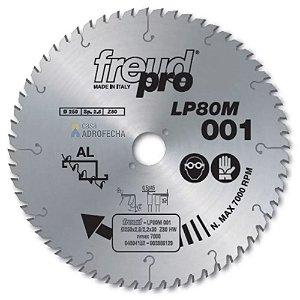 Serra Freud Trapezoidal para Alumínio LP80M 003 300mm 96 Wideas