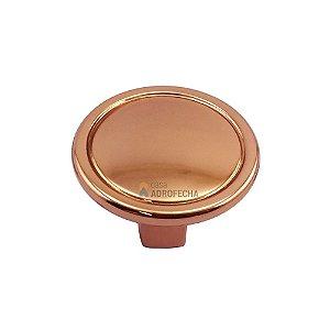 Puxador Ponto 1764 Grenade Rosê Gold 30mm