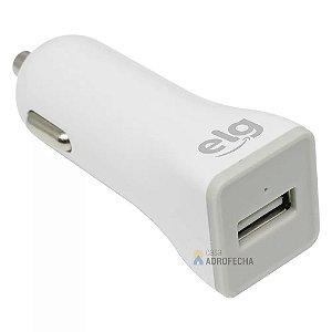 Carregador Veicular Universal Bivolt USB 1A CC1SE Branco