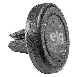 Suporte Veicular Universal para Smartphones com Base Magnética e Fixação na Saída de Ar ECCH2 Preto