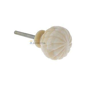 Puxador Ponto Osso Venus Victrix 92246 30mm
