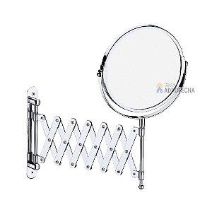 Espelho Pantográfico de Parede EP-L-6 Italy Line Cromado