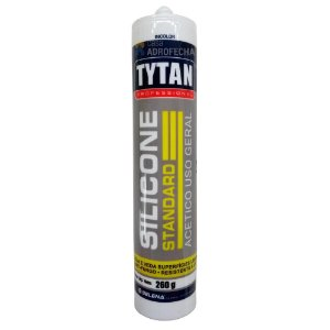 Silicone Acético Tytan Standard Uso Geral Incolor 260g