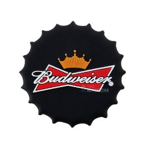 Puxador Beer PVC Budweiser 40mm