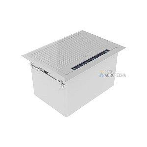 Caixa de mesa QM 17005 ABS 4 blocos Open Box