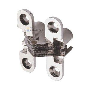 Dobradiça Invisível Hardt 45x12mm Cromada